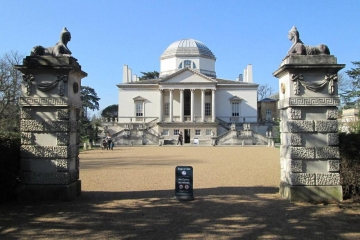 Chiswick House Entrance